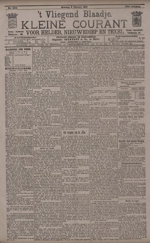 Vliegend blaadje : nieuws- en advertentiebode voor Den Helder 1895-02-09