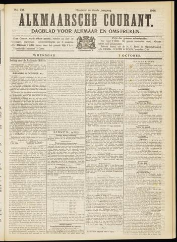 Alkmaarsche Courant 1908-10-07