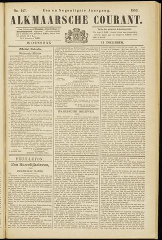 Alkmaarsche Courant 1889-12-11