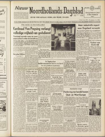 Nieuw Noordhollandsch Dagblad : voor Alkmaar en omgeving 1950-06-16