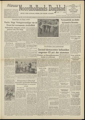 Nieuw Noordhollandsch Dagblad : voor Alkmaar en omgeving 1948-12-06