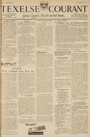Texelsche Courant 1963-02-08