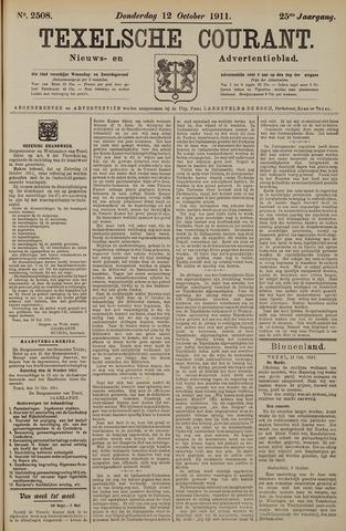 Texelsche Courant 1911-10-12