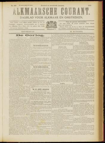 Alkmaarsche Courant 1915-10-21