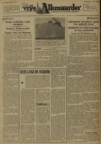 De Vrije Alkmaarder 1947-07-02