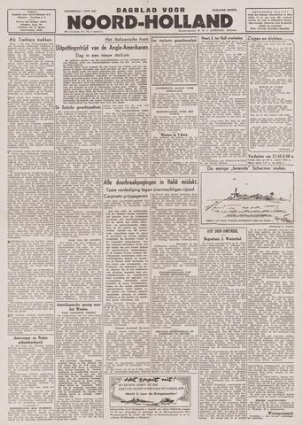 Dagblad Noord-Holland, Schager editie 1944-06-01