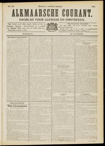Alkmaarsche Courant 1912-10-22