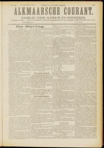 Alkmaarsche Courant 1915-07-17