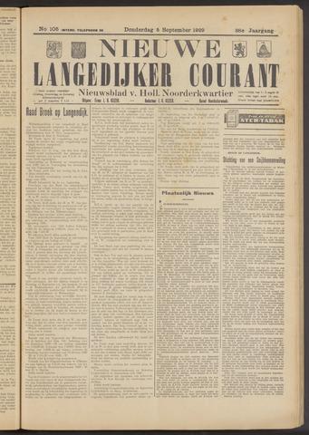 Nieuwe Langedijker Courant 1929-09-05