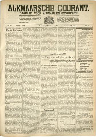 Alkmaarsche Courant 1933-11-30