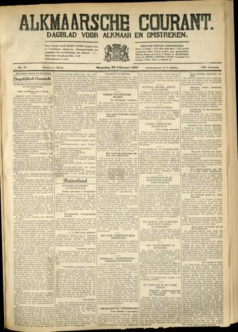 Alkmaarsche Courant 1933-02-20