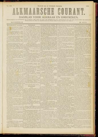 Alkmaarsche Courant 1919-07-31