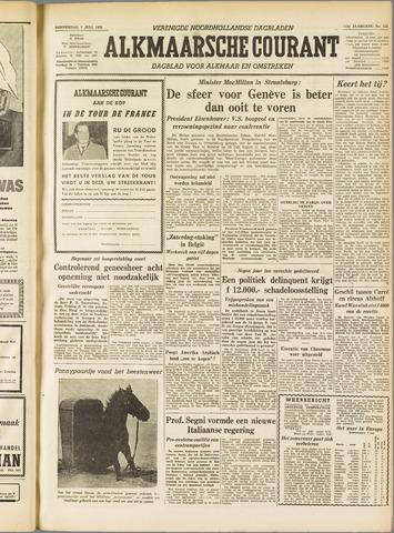Alkmaarsche Courant 1955-07-07