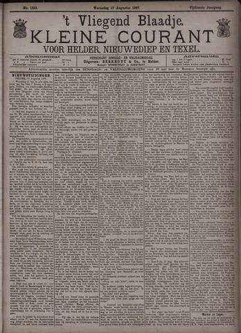 Vliegend blaadje : nieuws- en advertentiebode voor Den Helder 1887-08-17