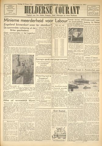 Heldersche Courant 1950-02-25
