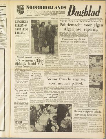 Noordhollands Dagblad : dagblad voor Alkmaar en omgeving 1961-10-03
