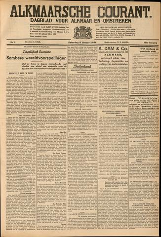 Alkmaarsche Courant 1934-01-06