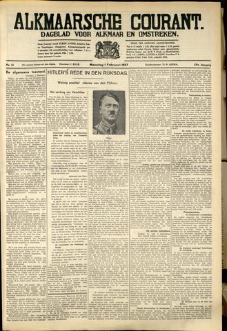 Alkmaarsche Courant 1937-02-01
