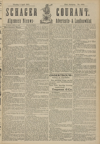 Schager Courant 1911-04-04