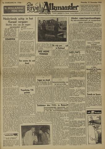 De Vrije Alkmaarder 1949-12-12