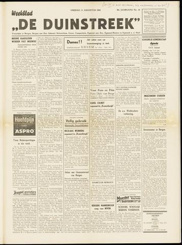 De Duinstreek 1962-08-31
