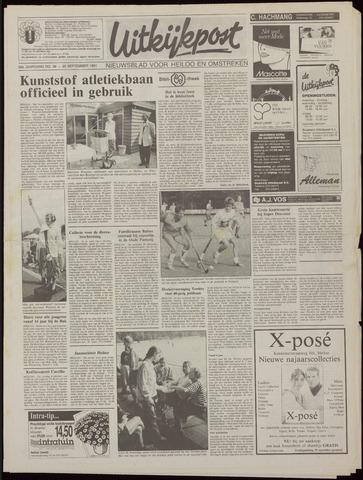 Uitkijkpost : nieuwsblad voor Heiloo e.o. 1991-09-25