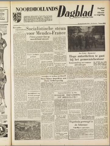 Noordhollands Dagblad : dagblad voor Alkmaar en omgeving 1954-10-12