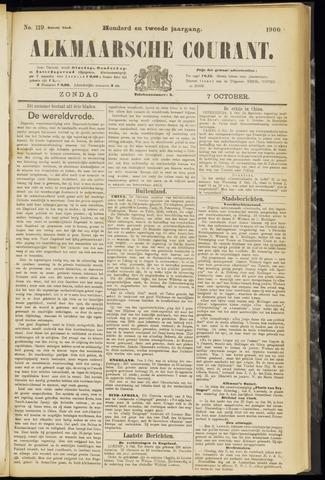 Alkmaarsche Courant 1900-10-07