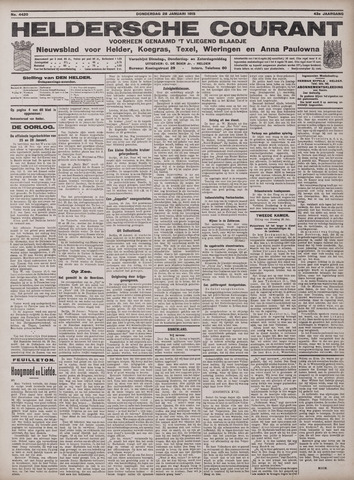 Heldersche Courant 1915-01-28