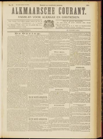 Alkmaarsche Courant 1915-02-27