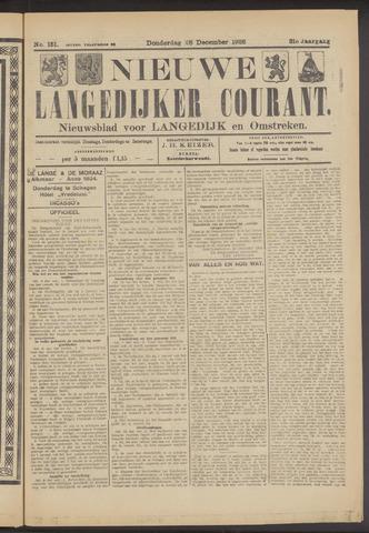 Nieuwe Langedijker Courant 1922-12-28