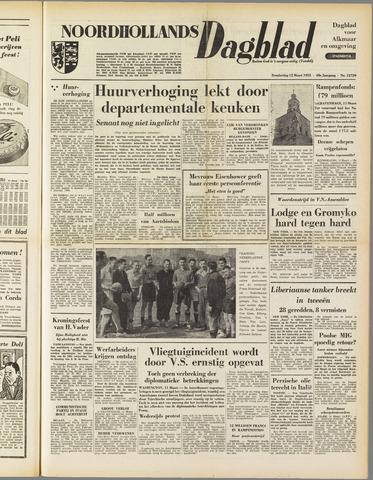 Noordhollands Dagblad : dagblad voor Alkmaar en omgeving 1953-03-12