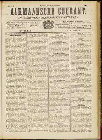 Alkmaarsche Courant 1909-09-04