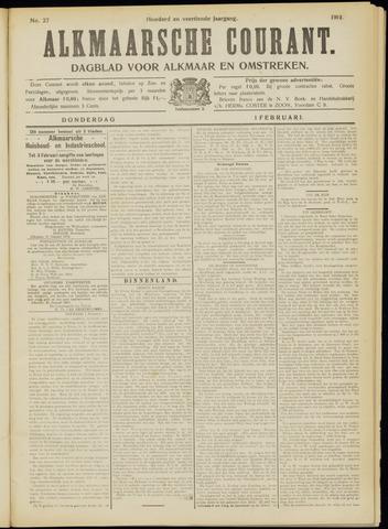 Alkmaarsche Courant 1912-02-01