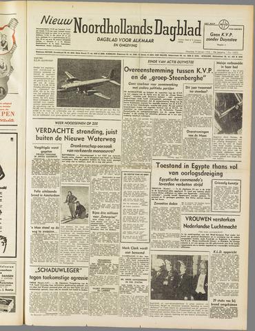 Nieuw Noordhollandsch Dagblad : voor Alkmaar en omgeving 1952-01-14