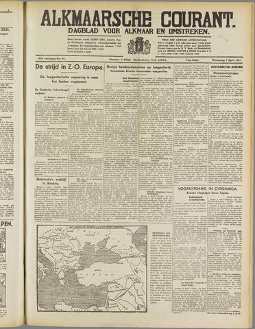 Alkmaarsche Courant 1941-04-09