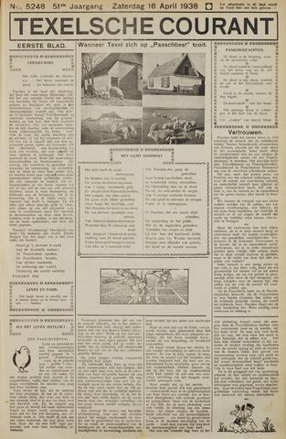 Texelsche Courant 1938-04-16