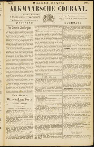 Alkmaarsche Courant 1898-01-05