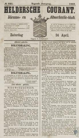 Heldersche Courant 1869-04-24