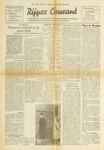 Rijper Courant 1949-02-11