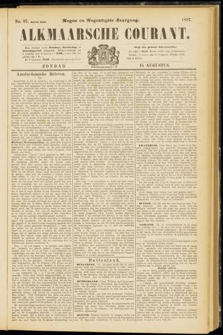 Alkmaarsche Courant 1897-08-15