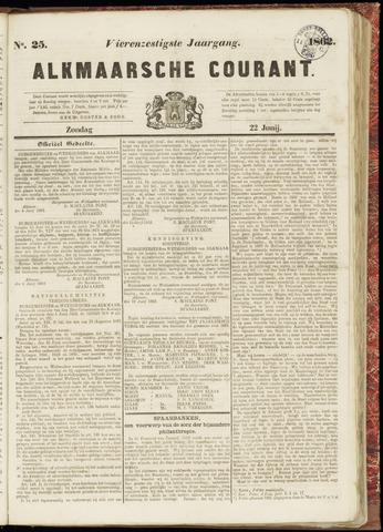 Alkmaarsche Courant 1862-06-22