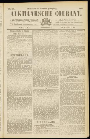 Alkmaarsche Courant 1905-02-24