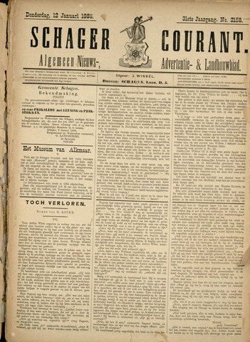 Schager Courant 1888-01-12
