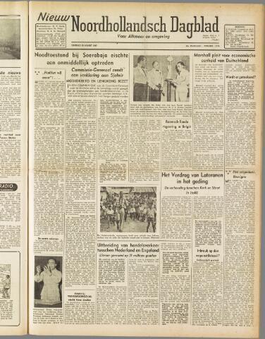 Nieuw Noordhollandsch Dagblad : voor Alkmaar en omgeving 1947-03-18