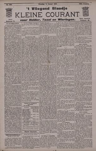 Vliegend blaadje : nieuws- en advertentiebode voor Den Helder 1900-01-31
