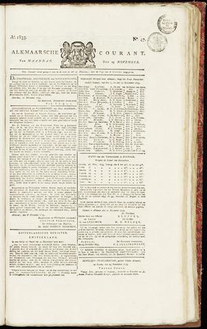 Alkmaarsche Courant 1833-11-25