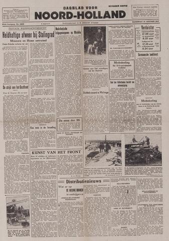 Dagblad Noord-Holland, Schager editie 1943-01-23