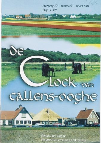 De Clock van Callens-Ooghe 2004