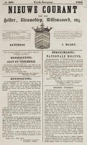 Nieuwe Courant van Den Helder 1864-03-05